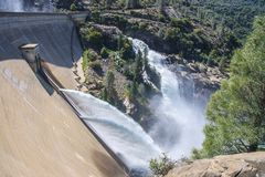 Barrage de Hetch Hetchy Photo stock