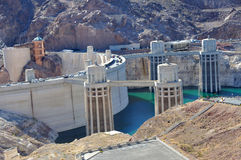 Barrage de Hoover Photo libre de droits