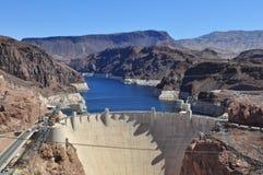 Barrage de Hoover et hydromel de lac Image stock