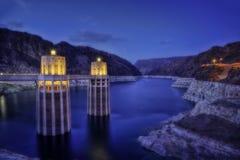 Barrage de Hoover Etats-Unis images libres de droits