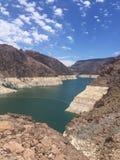 Barrage de Hoover Nevada Etats-Unis Photographie stock libre de droits