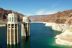 Barrage de Hoover, Nevada, Etats-Unis Image libre de droits