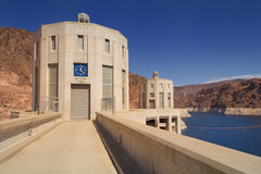 Barrage de Hoover - Nevada Time Image stock