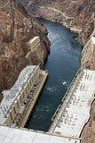 Barrage de Hoover près de ville de Boulder Photos stock
