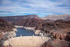 Barrage de Hoover un chef d'oeuvre architectural à la frontière entre le Nevada et l'Arizona photo libre de droits