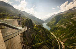 Barrage de Kaprun Photo stock