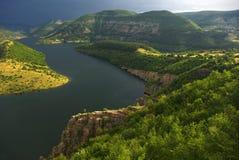 Barrage de Kardgali Photos libres de droits
