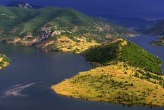 Barrage de Kardgali Photographie stock libre de droits