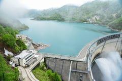 Barrage de Kurobe Images stock