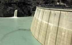 Barrage de l'eau Image libre de droits