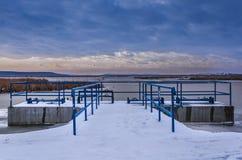 Barrage de l'eau Photographie stock