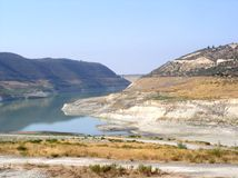 Barrage de l'eau de Limassol Photographie stock