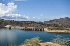 Barrage de Maguga Image stock