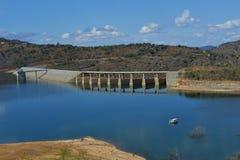 Barrage de Maguga, Souaziland photographie stock libre de droits