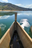 Barrage de Maguga, Souaziland Photo stock