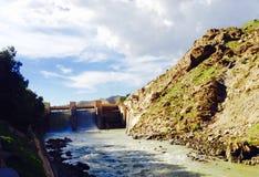 Barrage de Mahipar Image libre de droits