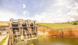 Barrage de Manchanabele Photos stock