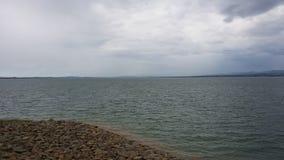 Barrage de Mangla Images stock