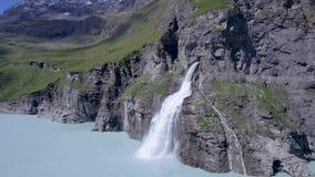 Barrage de Mauvoisin, Bagnes, Valais, Suisse clips vidéos