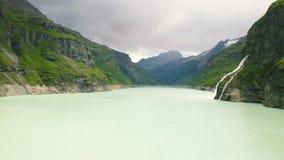 Barrage de Mauvoisin, Bagnes, Valais, Suisse banque de vidéos