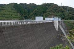 Barrage de Miyagase photo libre de droits