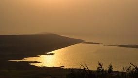 Barrage de Morbe, Karjat Photos libres de droits