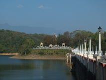 Barrage de Neyyar Images stock