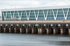 Barrage de rivière Photographie stock