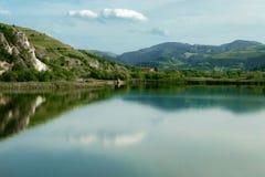 Barrage de rivière de Sebes Photographie stock libre de droits