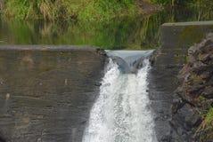 Barrage de rivière de Wailuku Photographie stock