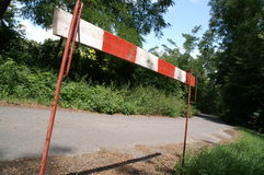 barrage de route 2 Photos stock