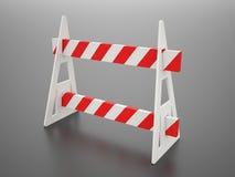 Barrage de route barier Photo libre de droits