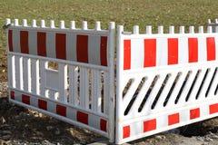 Barrage de route/bloc spécial de barrières photos stock