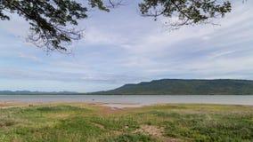 Barrage de sécheresse Images libres de droits