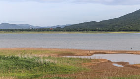 Barrage de sécheresse Photos stock