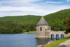 Barrage de Saville dans Barkhamsted, le Connecticut photographie stock libre de droits