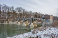Barrage de Springbank Photo stock