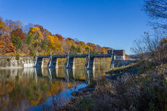Barrage de Springbank Image stock