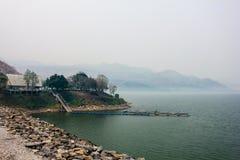 Barrage de Srinakarin Images libres de droits