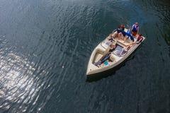 Barrage de vacances de Ski-bateau Photos libres de droits