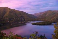 Barrage de Vacha, Bulgarie Images libres de droits