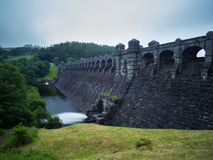 Barrage de Vyrnwy de lac, Powys Photos stock