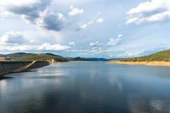 Barrage de Wayangala Réservoir de barrage Images libres de droits