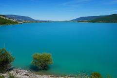 Barrage de Yesa de lac photos libres de droits