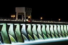 Barrage du Kentucky - lac kentucky, Kentucky image libre de droits