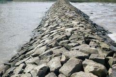 Barrage en pierre Images stock