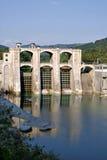 Barrage en Slovénie Photos libres de droits