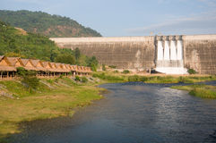 Barrage en Thaïlande Photographie stock