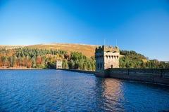 Barrage et réservoir de Derwent photo libre de droits