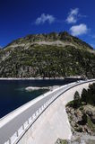 Barrage at high altitude Royalty Free Stock Image